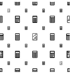 Accounting icons pattern seamless white background vector