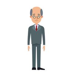 Cartoon business man cartoon character young male vector