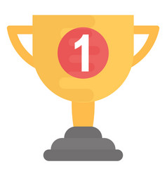 First position trophy vector