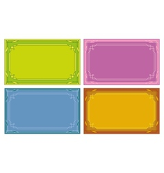 label tags vector image