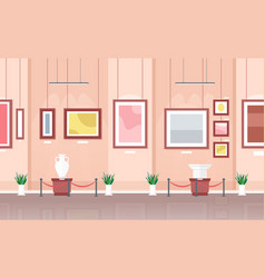Museum or art gallery vector
