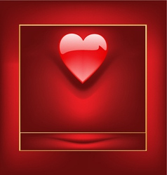 valentine box vector image
