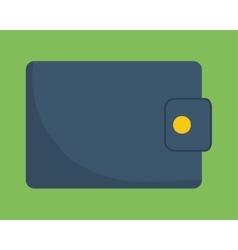 Wallet of money concept vector