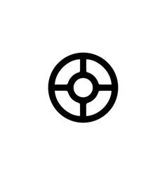 Wheel taranis antique scandinavian sacred sign vector