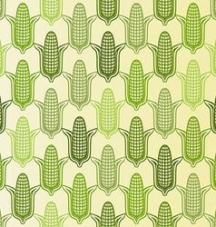 corn seamless pattern vector image