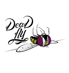 Funny cartoon dead fly vector image vector image