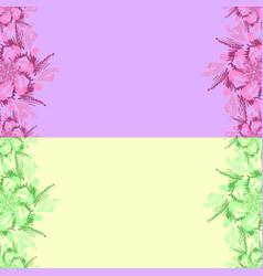 a set congratulatory summer backgrounds vector image