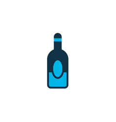 alcohol icon colored symbol premium quality vector image