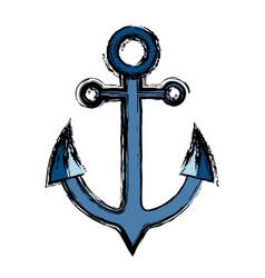 anchor icon image vector image