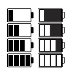 battery charge level symbol icon design beautiful vector image