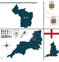 Bristol South West England vector