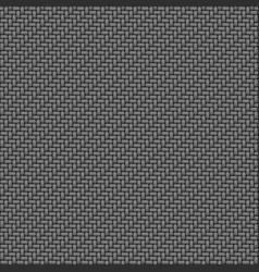 Gray fabric macro texture seamless pattern vector