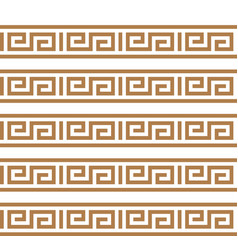 Greek key typical egyptian assyrian and greek vector