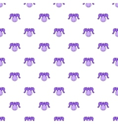 Hockey armor pattern cartoon style vector