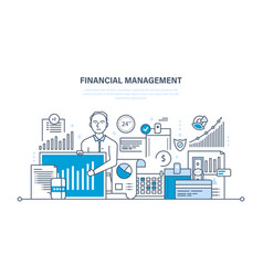 management analysis market research deposits vector image