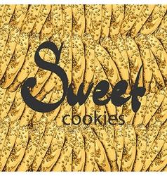 Sweet cookies vector