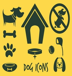 Animal icons2 vector