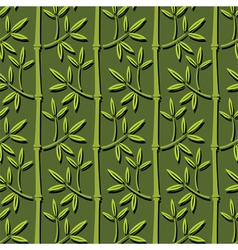 bamboo ornament vector image