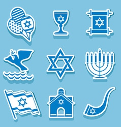 israel symbol vector image