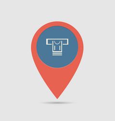 map pin atm vector image