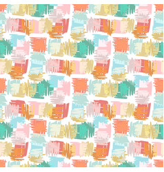 autumn seamless pattern background for kids vector image