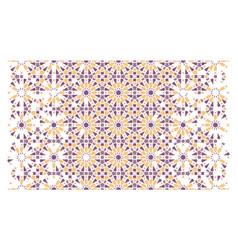 Arabesque seamless pattern geometric vector