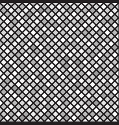 Diamond pattern seamless gray background vector