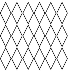 Tile black and white background or pattern vector