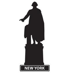 usa new york vector image