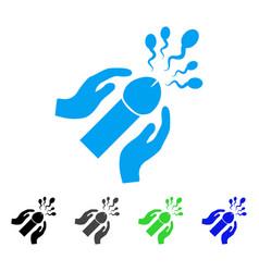 blowjob sperm ejaculation icon vector image vector image