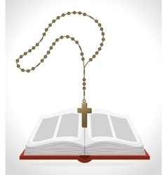 Holy bible book vector