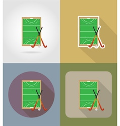 sport flat icons 67 vector image vector image