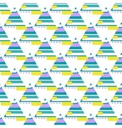 Modern African seamless pattern vector image