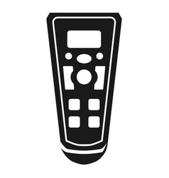 air cleaner remote control icon simple style vector image