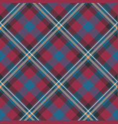 classic tartanchristmas plaid seamless patterns vector image