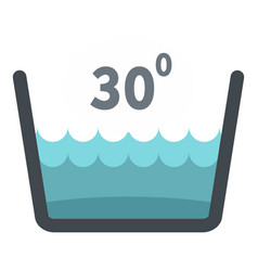 delicate gentle thirty degrees icon isolated vector image