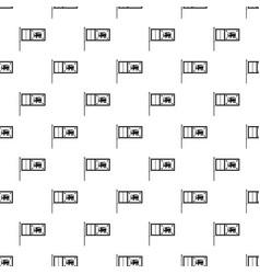 Flag of sri lanka pattern vector