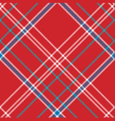 Red background check fabric texture seamless vector