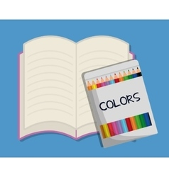School design Education icon Colorfull vector