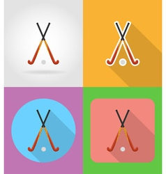 sport flat icons 04 vector image vector image