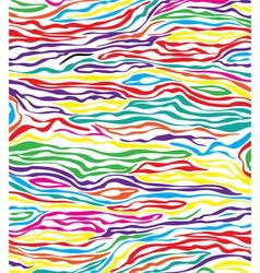 skin texture of zebra vector image vector image