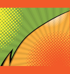 abstract two tone comic book comic book vector image
