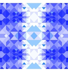 Christmas geometric pattern vector image