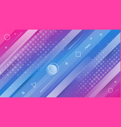 modern trendy abstract background with geometric vector image