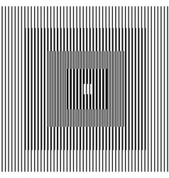 optical illusion square vector image