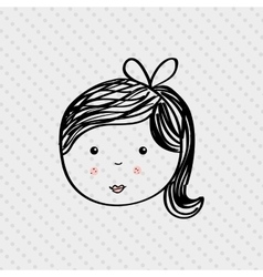 person drawing design vector image