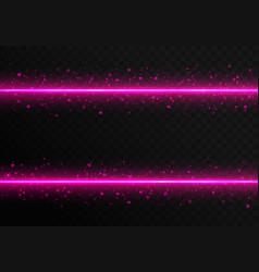 pink laser stripes vector image