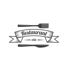 Restaurant Label Food Service Logo vector
