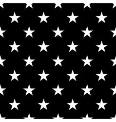 Stars seamless pattern small white vector