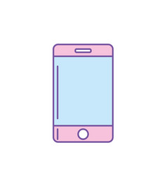 technology smartphone to communicate and speak vector image
